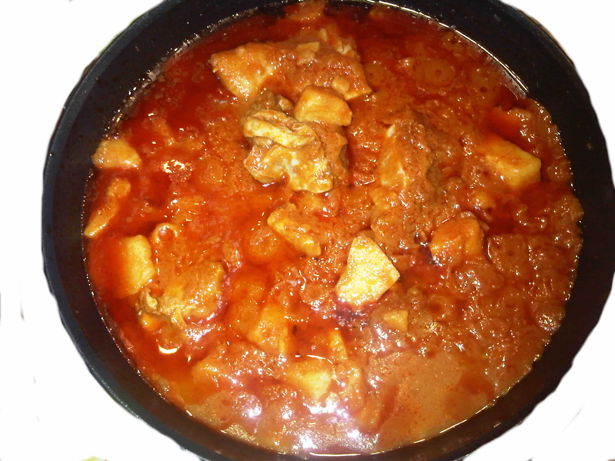 My Stew And Potatoes Creation.