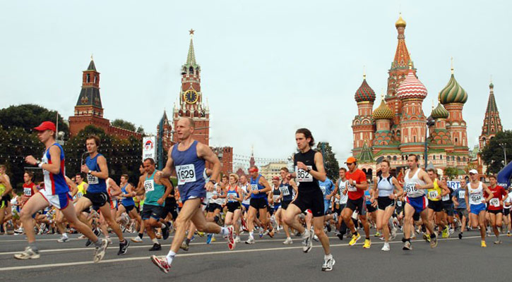 #somethingfresh: ​Preparing For The Moscow Marathon