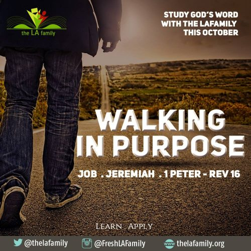 Walking In Purpose