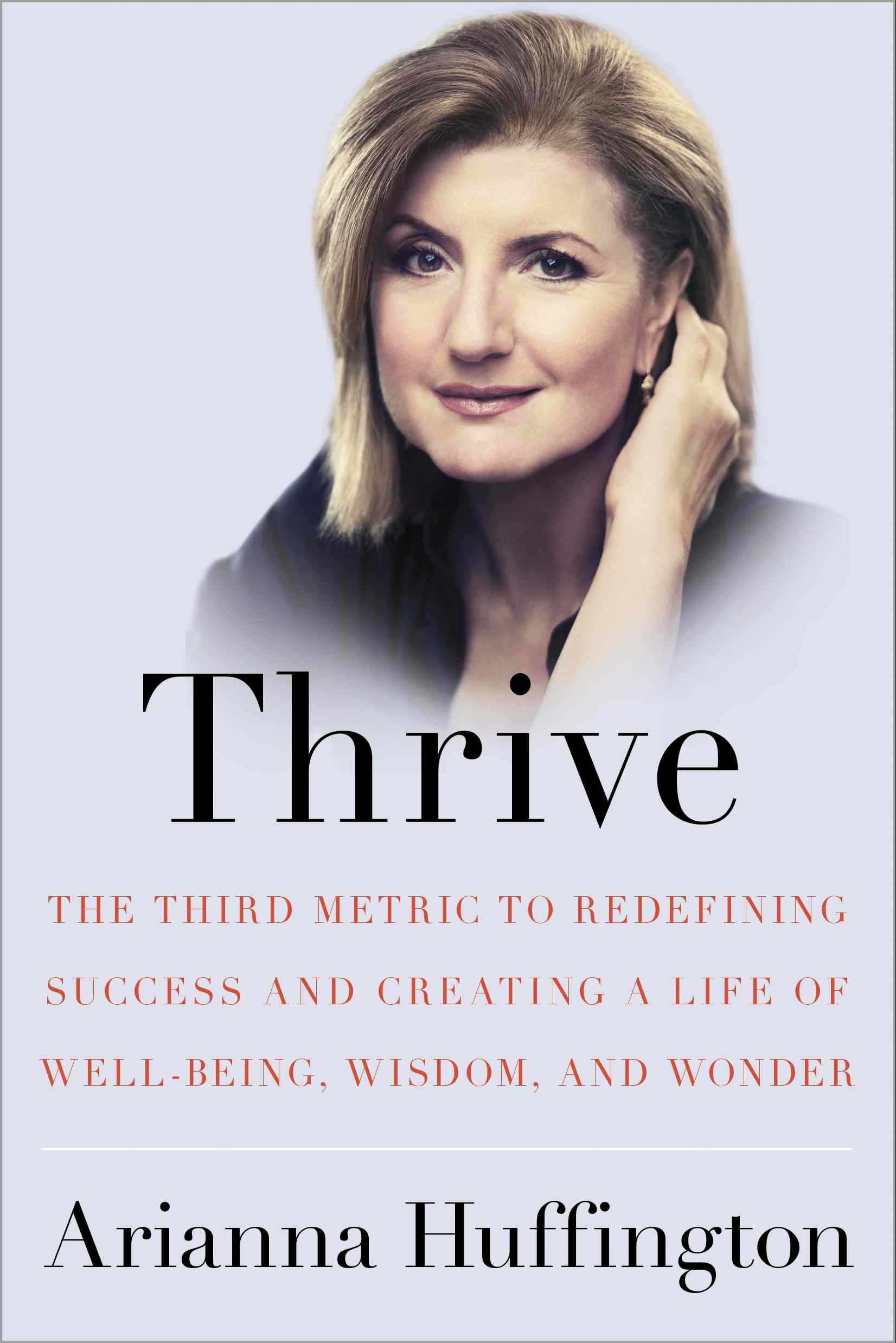 THRIVE Book Cover S